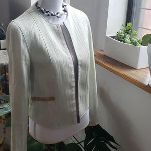 💙Elie Tahari Chanel style tweed jacket / blazer!